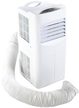 Sichler Mobile Monoblock-Klimaanlage 9000 BTU/h, 2600W mit Heizelement - 1