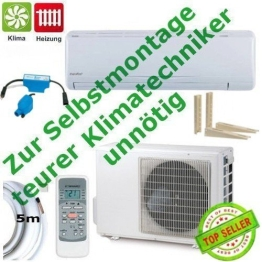 Split Klimaanlage DC Inverter 2,8 kW MSR23-09HRDN1-QE Comfee Komplettset - 1