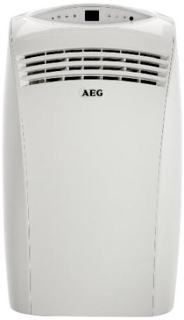AEG 231591 K25 A plus Mobiles Kompakt Klimagerät 3 in 1 Klimaanlage Kühlung, Entfeuchtung, Ventilation, 2,4 kW, Schalldruckpegel 38/48 db, Energieeffizienzklasse A (EER 2,84) - 1