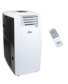 KLIMATRONIC  ENERGIC 9.0+ mobiles lokales Klimagerät [12303] [EEK A+/A+++] (Für Räume bis 90 m³ (~38m²), Kühlen + Heizen + Entfeuchten, 9.000 BTU/h, weiß) - 1