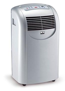 Remko  MKT 251S Klimagerät silber für Räume mit 80m³ Kühlleistung 2,6 kW, EEK: A - 1