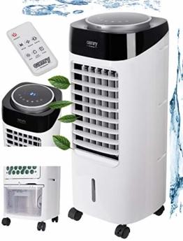 3in1 Aircooler | 300 Watt | 3 Modi | 12h Timer | Fernbedienung | Oszillierend | Klimagerät | Mobile Klimaanlage | Klima Ventilator | Luftreiniger | Luftbefeuchtung | Klimaanlage | Air Cooler | - 1