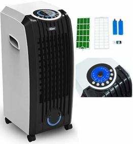 3in1 Aircooler | Mobile Klimaanlage | Klimagerät | Klima Ventilator mit Fernbedienung | Luftreiniger | Luftkühler | Luftbefeuchtung | Klima Anlage | Air Cooler | 3 Geschwindigkeitsstufen | Timer | - 1