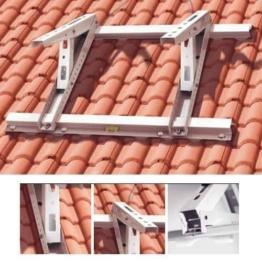 Dachkonsole Klimaanlage Universal Halter Wandhalter für Split Klima Klimageräte passt auch bei Inverter Anlagen - 1