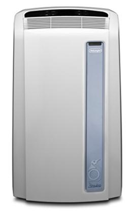 De'Longhi PAC AN97 Pinguino Luft-Luft System Real Feel Klimagerät / A / Max Kühlleistung 2.700 kW/ 10.700 BTU/h / weiß / mobil / Separate Entfeuchtungsfunktion - 1