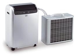 Remko Split Klimagerät RKL 491 DC, mobile und effiziente Klimaanlage, Einsatzbereich 120 qm, hohe Kühlleistung von 4.3 kW, geräuscharm, weiß, Art.-Nr. 1615490 - 1