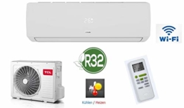 TCL Split Klimaanlage 9000 BTU WLAN WiFi Klimagerät 2,5kW Klima - Modell XA21 - 1