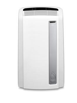 De'Longhi PAC AN112 Silent Mobiles Klimagerät (Klimaanlage, Luft-Luft System, Max. Kühlleistung 2,9 kW/11000BTU/h, Separate Entfeuchtungsfunktion, Geeigent für Räume bis zu 110 m³) [EEK A+],Weiß - 1