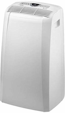 De'Longhi Pinguino PAC CN93 ECO Silent - mobiles Klimagerät mit Abluftschlauch, Klimaanlage für Räume bis 90 m³, Luftentfeuchter, Ventilationsfunktion, 12h-Timer, 2,6 kW, 75 x 45 x 39,5 cm, weiß - 1