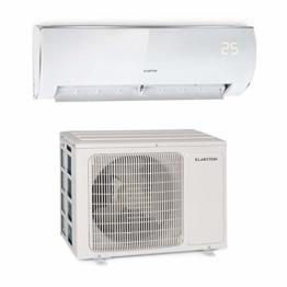 Klarstein Windwaker Eco Split-Klimaanlage • 9.000 BTU/h (2637 Watt) • Luftstrom: 610 m³/h • Heiz- und Kühlgerät • selbstreinigend • Energieeffizienzklassen: A++/A+ • 5 Betriebsmodi • 3 Schlafmodi - 1