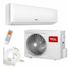 TCL 12000 BTU Klimagerät 5m Split Klimaanlage 3,3kW R32 Klima - Modell XA71 - 1