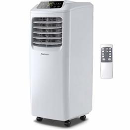 Pro Breeze™ 4-in-1 Mobile Klimaanlage mit 9000 BTU | Luftkühler, Ventilator, Luftentfeuchter, Nachtmodus | Klimagerät mit Energieklasse A, Fensterabdichtung Set, Fernbedienung und 24h Timer - 1