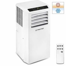 TROTEC Lokales Klimagerät PAC 2010 SH mobile 2,0 kW Klimaanlage 4-in-1-Klimagerät zur Kühlung Klimatisierung und Heizung 1,8kW [EEK A] - 1