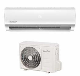 Comfee Split-Klimageräte MSAF5-09HRDN8-QE R32 SET, Leise Festinstallierte Split Klimaanlage für Räume bis ca. 80 m³(32 ㎡), 8800 BTU, 2,5 kW, Luftkühlung/luftheizung/Luftentfeuchter, EEK A+/A++ - 1