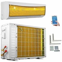 ECO Smart INVERTER WiFi/WLAN 12000 BTU Split Klimaanlage mit Wärmepumpe Klimagerät mit Heizfunktion SmartHome (3,5 kW) - 1