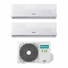 Klimaanlage Inverter Hisense New Comfort Dual Split 9000+12000 9+12 Btu 2AMW42U4RRA R-32 A++ - 1