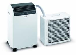 REMKO Lokales Raumklimagerät RKL 495 DC, weiß (Split-Ausführung, Klimagerät für ca. 120m³, Kühlleistung 4,3 Kw, incl. Fernbedienung) 1616495 - 1