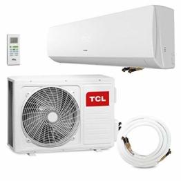 TCL 18000 BTU Quick-Connector Klimagerät Split Klimaanlage 5,1kW Modell XA21 QC - 1